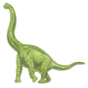 Diplodocus Magnet in green colour
