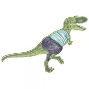 T-Rex Dressed Magnet Lime