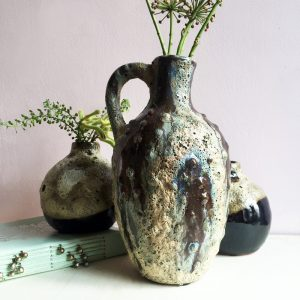 Kea rustic glazed vase sold by curiousegg