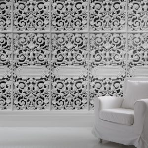 Cast Iron Lace Wallpaper