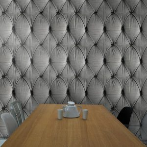 Chesterfield Wallpaper Grey