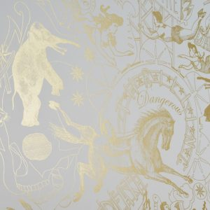 Limited Edition Gold Highwire Wallpaper