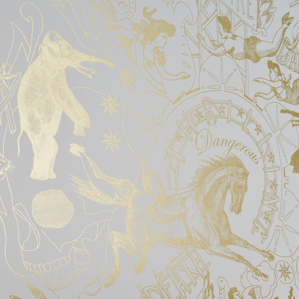 Limited Edition Gold Highwire Wallpaper - CuriousEgg