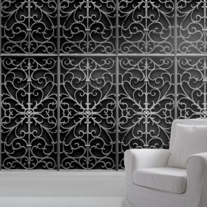 Wrought Iron Gate Wallpaper