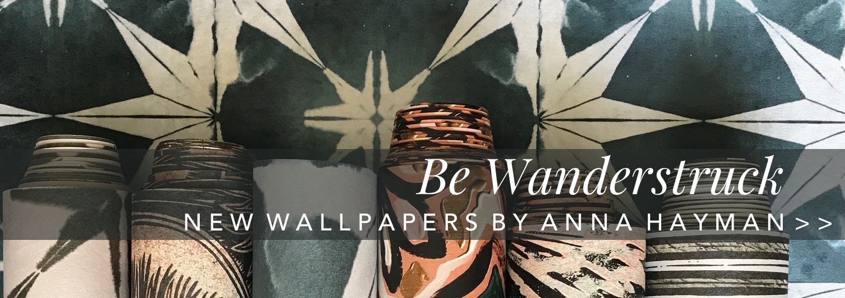 Be Wanderstuck. New Wallpapers by Anna Hayman at Curious Egg