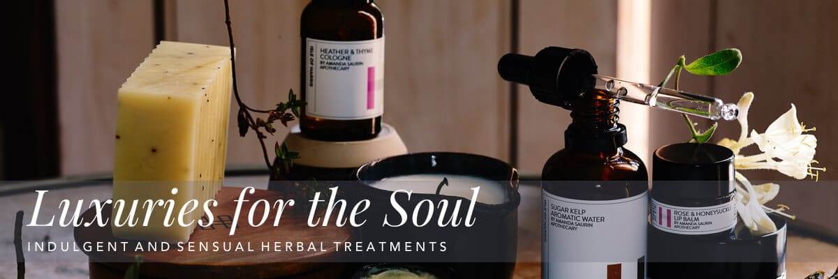 Curious Egg.  The Apothecary.  Luxuries for the soul.  Indulgent and sensual herbal treatments.