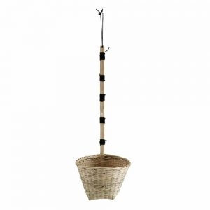 Rattan Hanging Scoop Basket