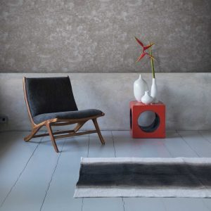 Grattage wallpaper by Feathr in concrete colour lifestyle image