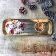 Persia Gold Tray for party entertaining
