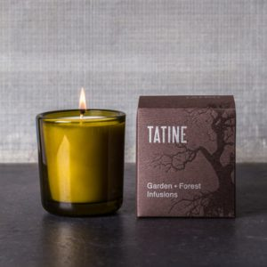 Tatine Garden Mint Candle from theGarden and Fosest Infusions range. Curious Egg.