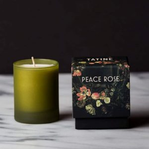 Tatine Peace Rose Candle. Curious Egg.