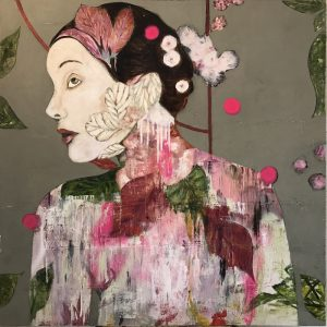 Karenina Fabrizzi - Original Artwork - Modern Geisha - Exclusively available at Curious Egg